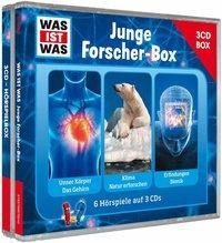 Cover von WAS IST WAS 3-CD-Hörspielbox Junge Forscher