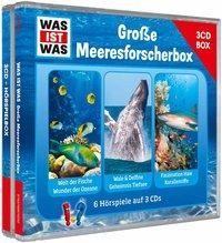 Cover von WAS IST WAS 3-CD-Hörspielbox Meeresforscher