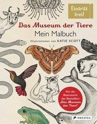 Cover von Das Museum der Tiere. Mein Malbuch