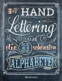 Cover von Handlettering. Die 33 schönsten Alphabete mit Rahmen, Ornamenten und Bordüren