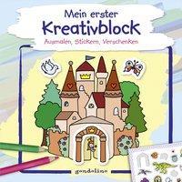 Cover von Mein erster Kreativblock (Schloss)