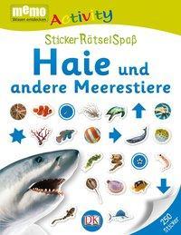 Cover von memo Activity. Haie und andere Meerestiere