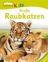 Cover von memo Kids. Große Raubkatzen