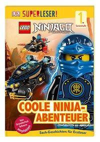 Cover von SUPERLESER! LEGO® NINJAGO® Coole Ninja-Abenteuer