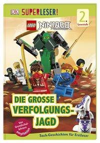 Cover von SUPERLESER! LEGO® NINJAGO® Die große Verfolgungsjagd