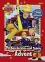 Cover von Feuerwehrmann Sam: 24 Geschichten und Spiele zum Advent