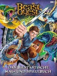 Cover von Beast Quest: Das biestastische Mal- und Spielebuch