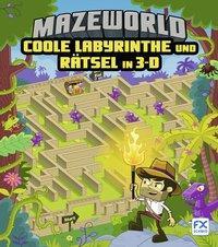 Cover von Mazeworld: Coole Labyrinthe und Rätsel in 3-D