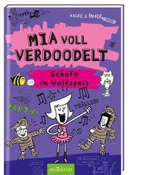 Cover von Mia voll verdoodelt - Schafe im Wolfspelz