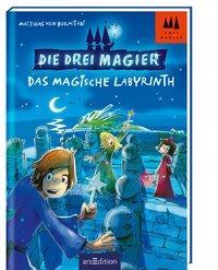 Cover von Die drei Magier - Das magische Labyrinth