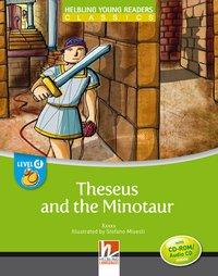 Cover von Theseus and the Minotaur, mit 1 CD-ROM/Audio-CD