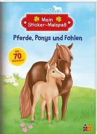Cover von Pferde, Ponys und Fohlen