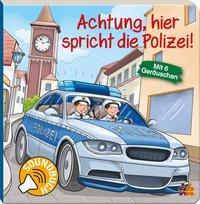 Cover von Achtung, hier spricht die Polizei. Soundbuch