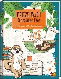 Cover von Kritzelbuch für Faultier-Fans
