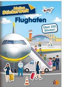 Cover von Meine Stickerwelt. Flughafen