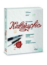 Cover von Das große Kalligraphie-Set - Schönschrift lernen leicht gemacht