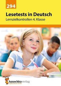 Cover von Lesetests in Deutsch - Lernzielkontrollen 4. Klasse