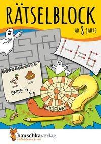 Cover von Rätselblock ab 8 Jahre
