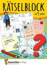 Cover von Rätselblock ab 9 Jahre