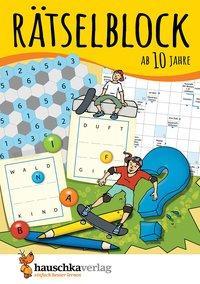 Cover von Rätselblock ab 10 Jahre, Band 1, A5-Block