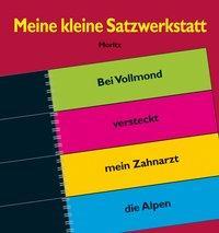 Cover von Meine kleine Satzwerkstatt