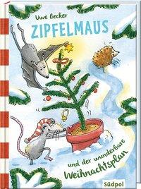Cover von Zipfelmaus und der wunderbare Weihnachtsplan