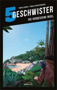 Cover von 5 Geschwister: Die vergessene Insel (Band 13)