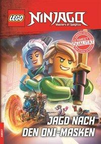 Cover von LEGO® NINJAGO® - Jagd nach den Oni-Masken