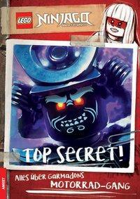 Cover von LEGO® NINJAGO® - TOP SECRET! Alles über Garmadons Motorrad-Gang