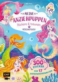 Cover von Meine Anziehpuppen – stickern & träumen: Meerjungfrauen