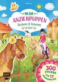 Cover von Meine Anziehpuppen – stickern & träumen: Reiterhof