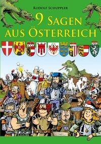 Cover von 9 Sagen aus Österreich