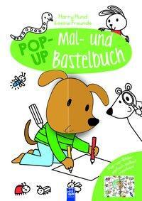 Cover von Pop-Up Mal- und Bastelbuch Hund